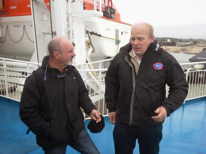 Photo de Charles L. Pas chaud sur le bateau