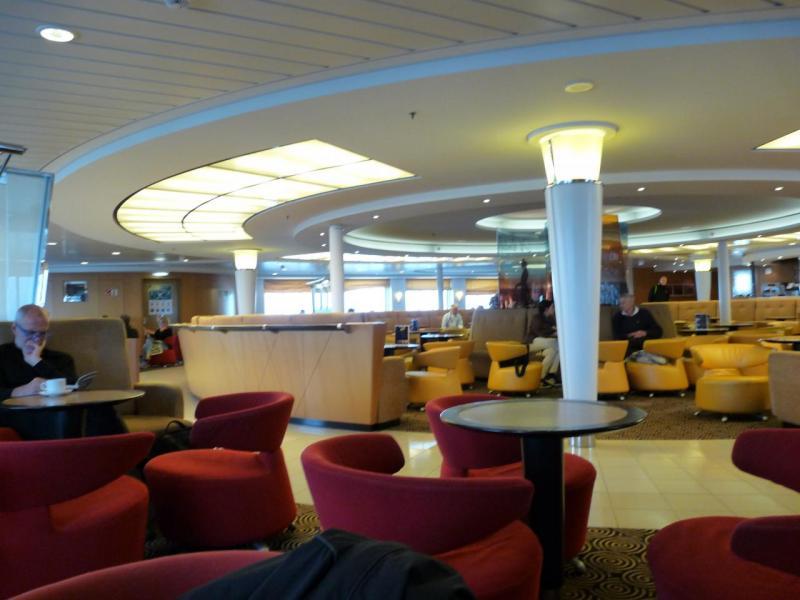 L'intérieur du Ferry, bon confort