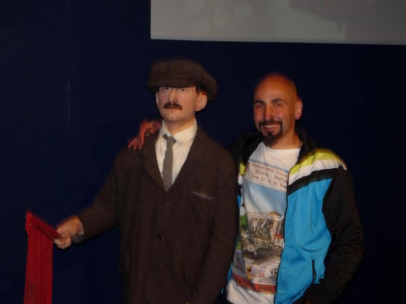 Motor museum Beaulieu, notre président et son ami...