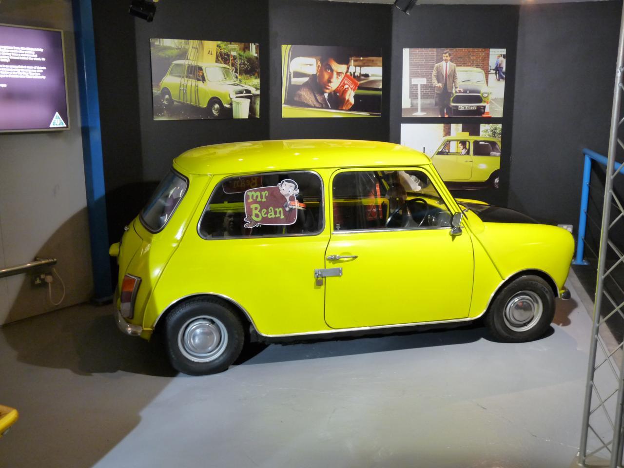 L'auto de MR Bean
