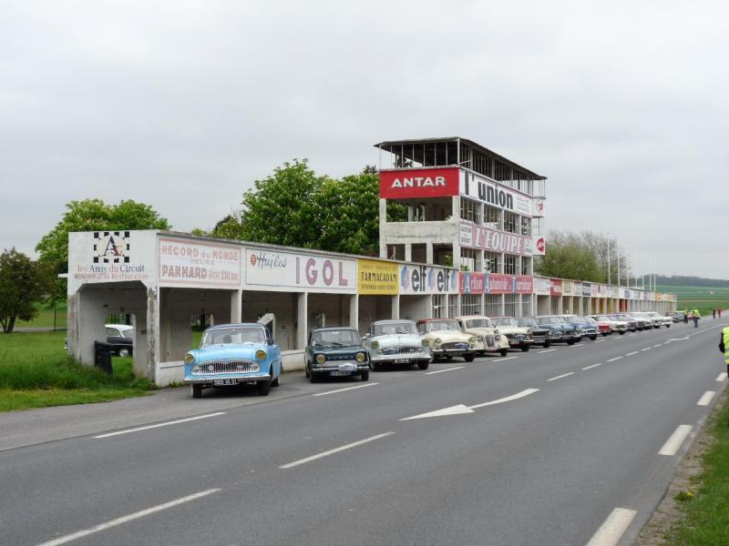 Rassemblement Simcaworld à Vertus (Champagne)